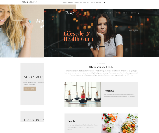 Ariyah WordPress Theme Premade Looks