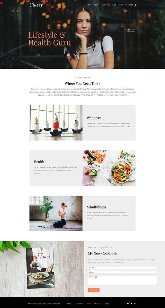 Ariyah Classy WordPress Theme