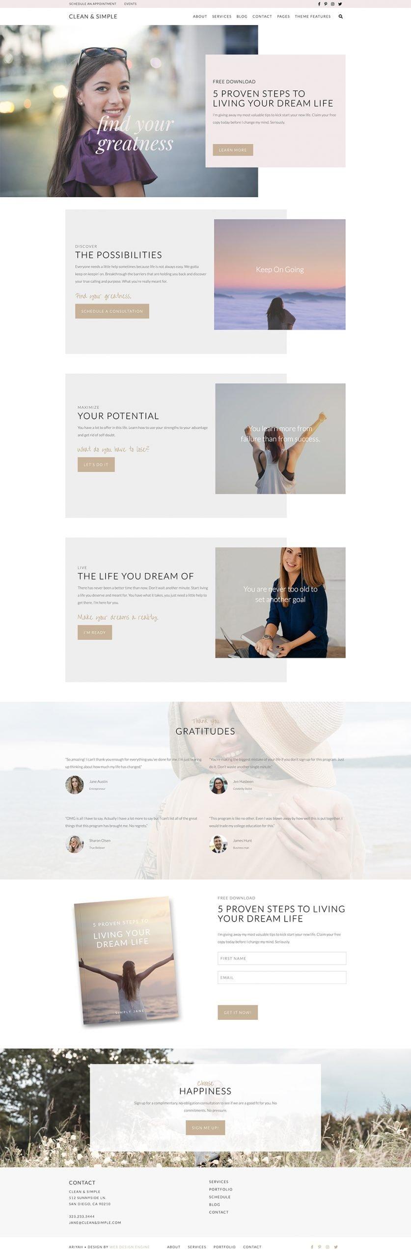 Clean & Simple Theme